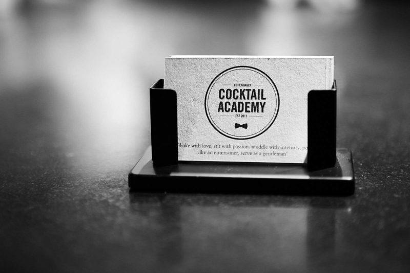 Copenhagen Cocktail Academy visitkort