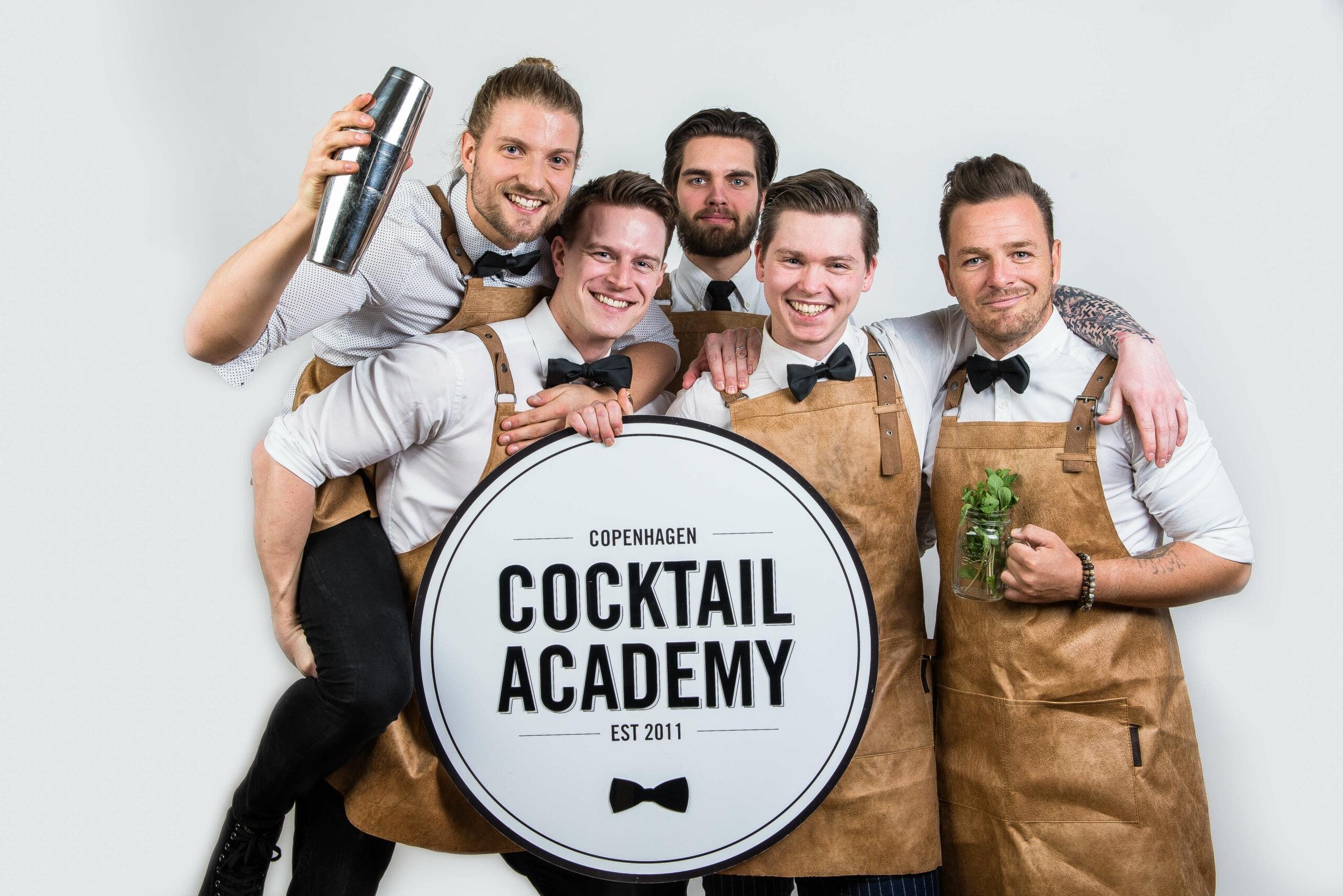 Bartenderne fra Copenhagen Cocktail Academy