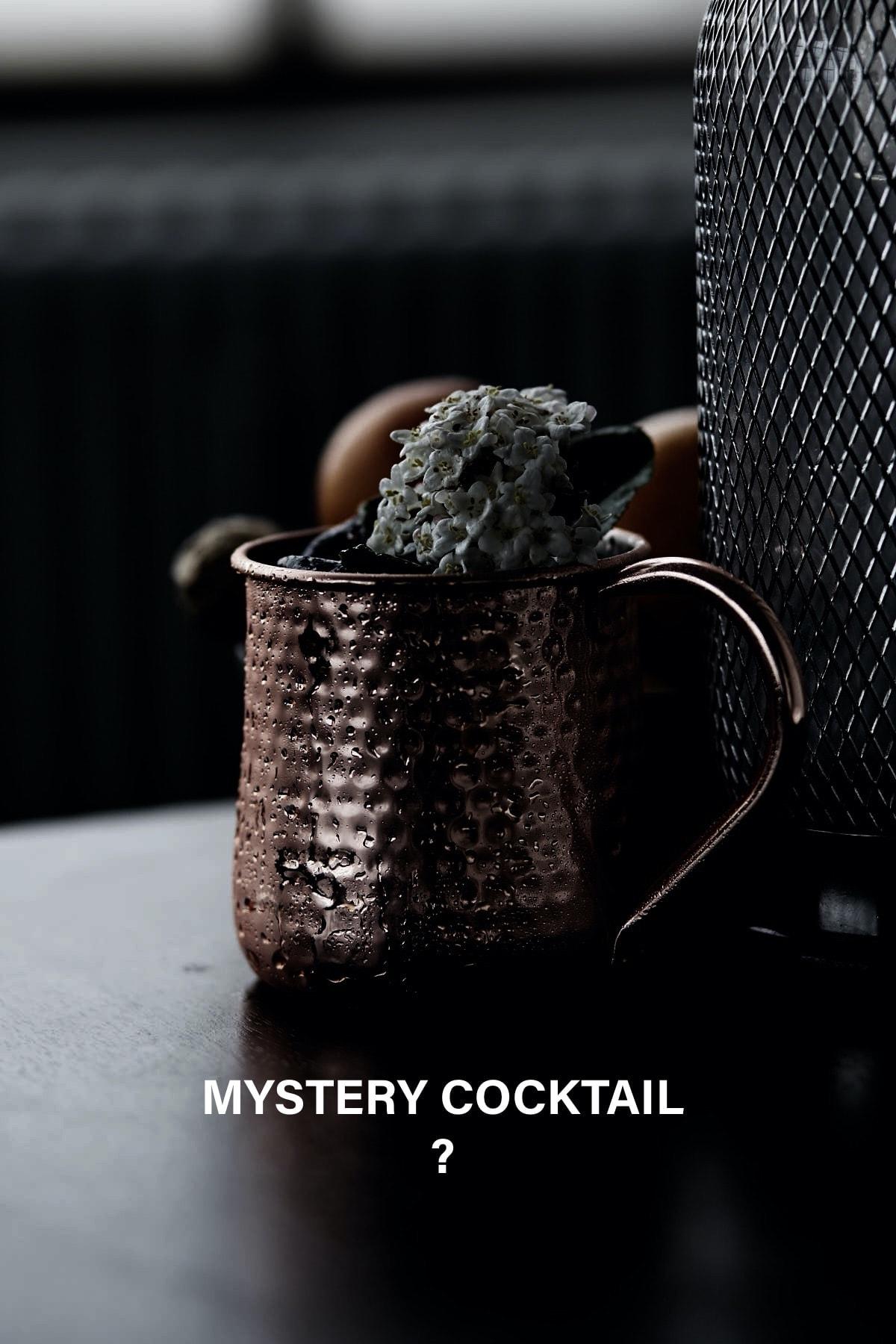 Mystery Cocktail til virtuelt kaffekursus med Topbrewer og CCA