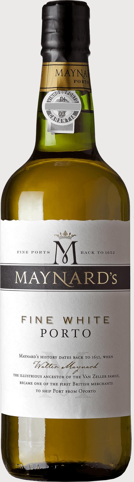 Maynards Fine White 75cl GALLO til online portvinssmagning og cocktails