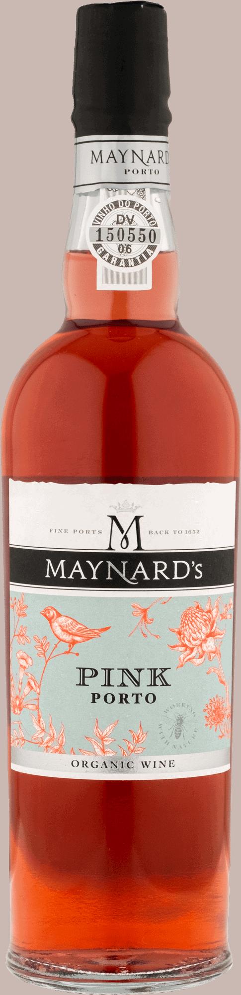 Maynards Pink Porto Organic til portvinssmagning og portvinscocktails